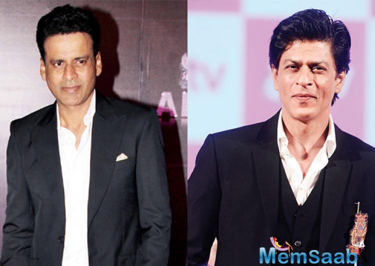 Manoj Bajpayee, who plays Budhia's coach in film Budhia Singh', said SRK was born for commercial cinema.