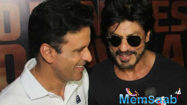 When asked whether he regrets not taking route of the commercial cinema, Manoj said Shah Rukh Khan was born for commercial cinema while he is content what he is doing.