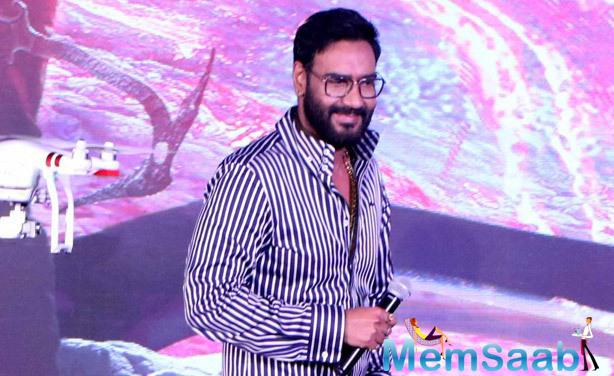 Shivaay has been directed by Ajay Devgn, and he says that he chose to direct his upcoming film Shivaay as he felt that only he would be able to tell the story that he wanted to with the film.