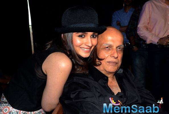 No matter which part of the world you step into, the bond between  a father and his daughter remains the same.Mahesh Bhatt has always been vocal about women power
