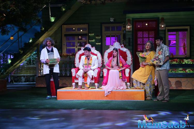 It looks like the comic sensation Kapil Sharma, who has raised the bars of stand-up comedy in India, has finally found the love of his life. The Kapil Sharma show never misses a chance to flirt with the female guests on his show.