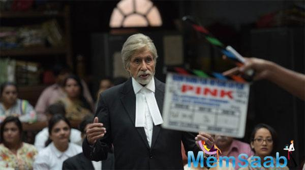Pink is an Indian courtroom drama thriller film .