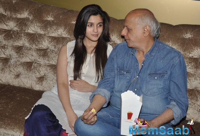 67-year-old Mahesh Bhatt helmer looks at the work of his daughter with pride.She has evolved from a reasonably good talented beginner to an extraordinary actor in 'Udta Punjab'