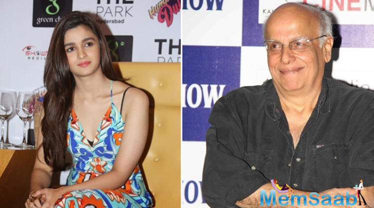 Mahesh Bhatt words he is proud of his daughter Alia Bhatt's work and feels she must taste failure as well.