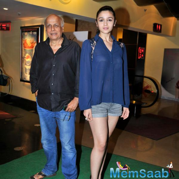 When question comes to Mahesh if he would be ok with Alia going to Hollywood, Bhatt said he will be a supportive father.