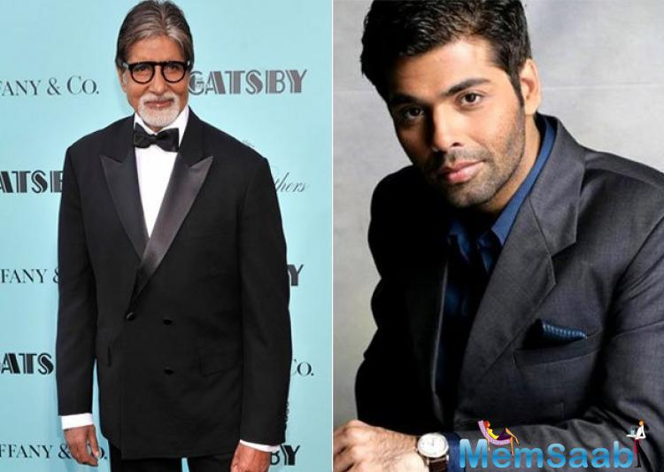 Karan words for Big B I have great respect for Amitabh Bachchan and his achievement. His zest, his zing, the way he conducts himself at 74, he's the youngest man I know. I want to have the spirit that he has