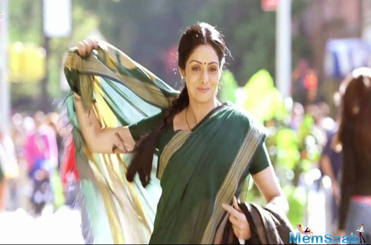Just when the English Vinglish actress Sridevi has wrapped up Mom of her own production house, reports are already doing the rounds of her next movie.