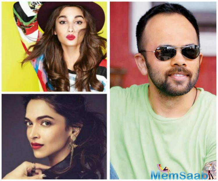 Report was that, either Alia or Deepika is starring in the fourth instalment of comedy franchise Golmaal.