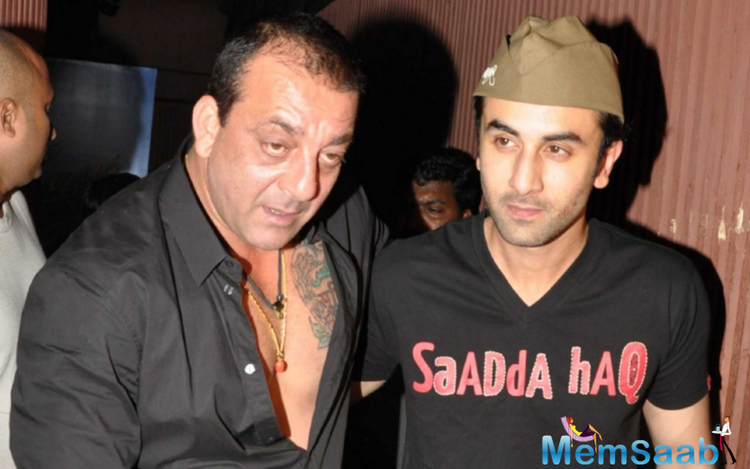 Ranbir words I can't wait, it's a tricky biopic also because it's not somebody who is like in the past, or somebody who is dead or a political figure. For this writer, the concept of a Sanjay Dutt biopic was always a shaky proposition.