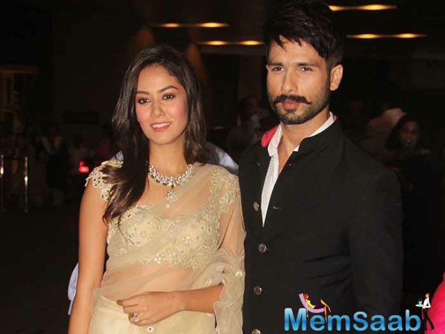 Shahid and Mira, who tied the knot with each other in Delhi on July 7, 2015. The couple are expecting their first child in September.