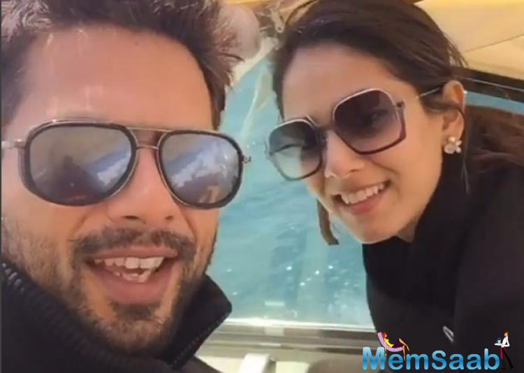Shahid Kapoor and Mira Rajput are one of the cutest couples of Bollywood.Soon to be a father, Shahid Kapoor is taking his daddy duties very seriously.