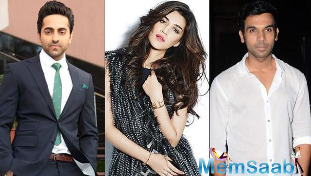 If sources to be believed, Rajkummar Rao, Ayushmann Khurrana and Kriti Sanon will star in director Ashwini Iyer Tiwari's upcoming film Bareilly Ki Barfi.