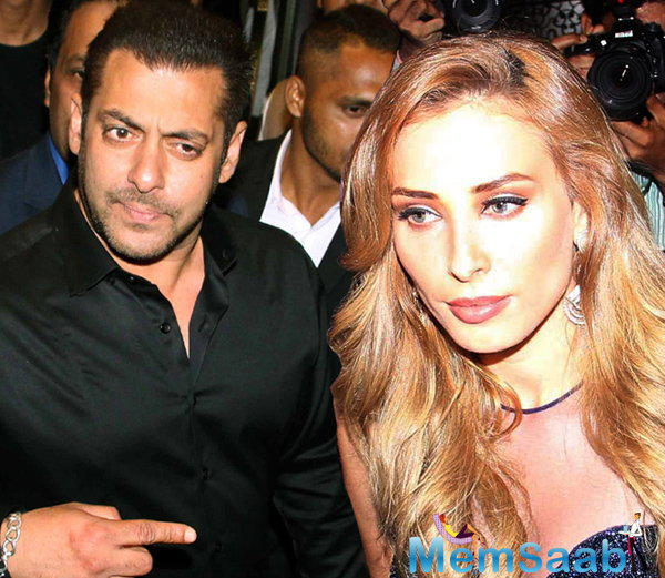 This is not the first time Iulia is lending her voice to a Salman song. Song titled Baby Nu Bass Pasand Hai which has been rendered by Salmana and Iulia.