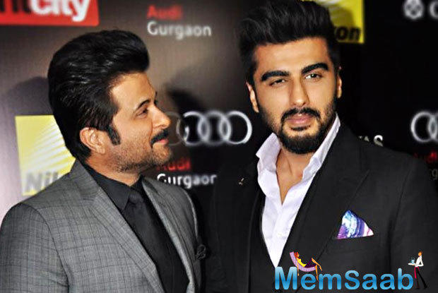 Arjun Kapoor has confirmed that he is teaming up with the ever young and energetic Anil Kapoor for Aneez Bazmee's next 'Mubaraka'.