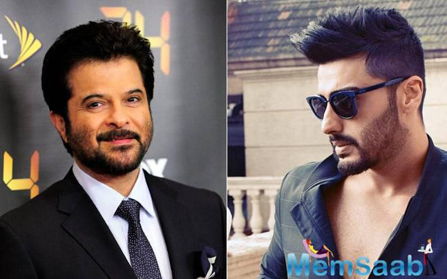 Here , a good news for Arjun Kapoor and Anil Kapoor fans. The electrifying Chacha- Bhatija duo is all set to take the audiences by storm on a fun-filled roller-coaster ride with this new project.