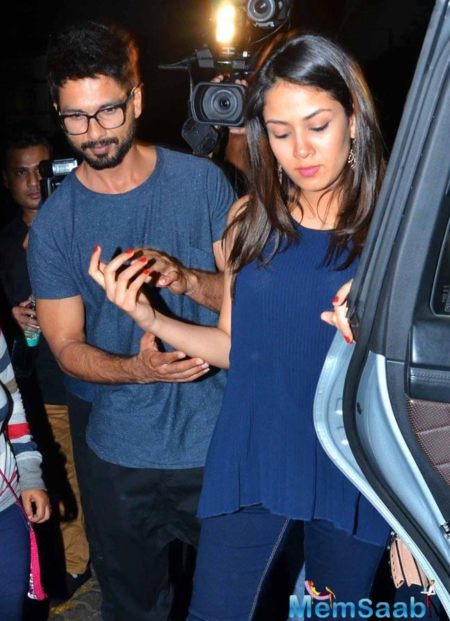 Shahid Kapoor and Mira Rajput welcomed their first daughter Friday evening. Soon after Shahid shared the news on tweeter.
