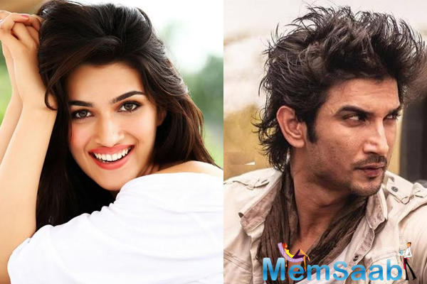 Indian model and film actress Kriti Sanon says she is huge fan of Mahendra Singh Dhoni