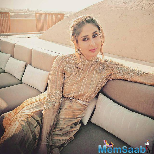 Bebo said Shahid was the one who told her that he is getting married to Mira and she was very happy for him. She got to know the good news from Shahid himself a few months ago