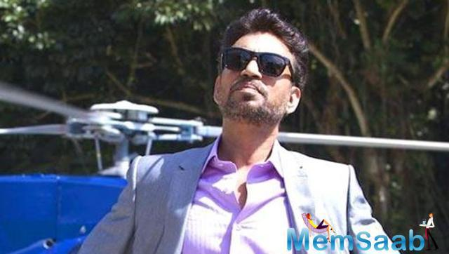 Irrfan Khan, who was seen in Madaari, honoured with the Entertainer of the Year award by CNBC-TV18 on Tuesday.