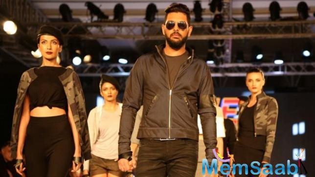 Yuvi also grateful to all celebrities, who took out time from their busy schedule and came out to support him.