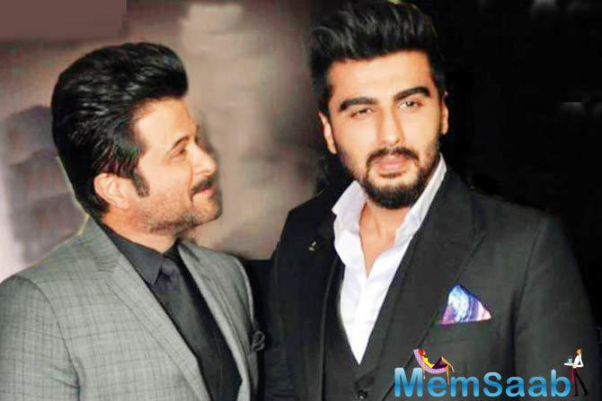Recently, we broke a news that Anil and Arjun Kapoor team up for Anees Bazmee's upcoming flick Mubarakan, now Anil Kapoor shares a happy news about the same.