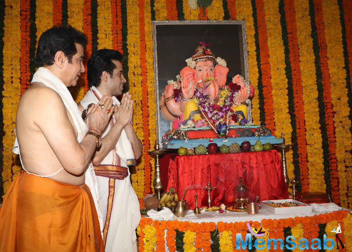 While asked about his wishes from Bappa, Jeetendra said: