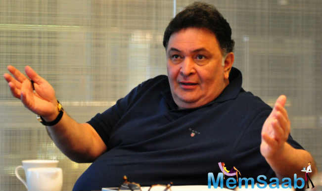 """Rishi Kapoor, who was last seen in Kapoor And Sons, tweeted about a role he must play, he said """"Must get a meaty role which I can get my teeth into."""