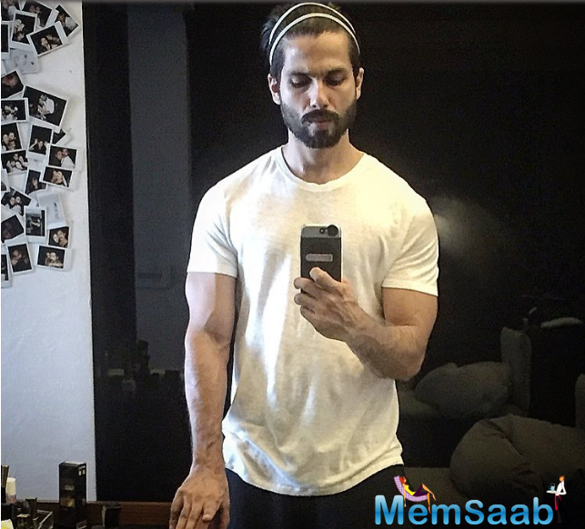 Now, Shahid Kapoor recently shared an adorable selfie on Instagram. A source revealed ,