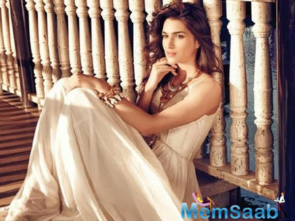 Ever since Kriti Sanon is surely going place and she should. The actress will also be seen in 'Bareilly Ki Barfi', which also stars Rajkummar Rao. Kriti has just wrapped up a schedule of Dinesh Vijan's Raabta with Sushant Singh Rajput in Mauritius.