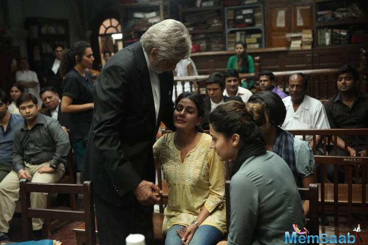As per the source, Amitabh yesteryear co-stars, like Waheeda Rehman and Sharmila Tagore, as well as other female luminaries from fields like music, have been invited to a special preview of Pink today.