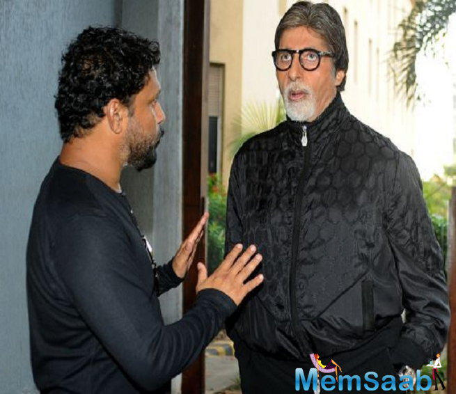 Shoojit said he trusted us blindly. He agreed to do the film as I was there on board as a producer for 'Pink'.