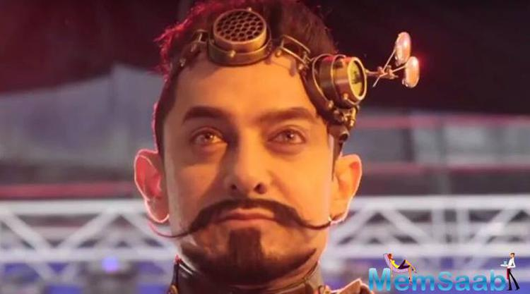 Aamir Khan is all set to produce his former manager, Advait Chandan's debut directorial Secret Superstar, and is also reportedly going to do a cameo in the film. He is sporting two different looks.