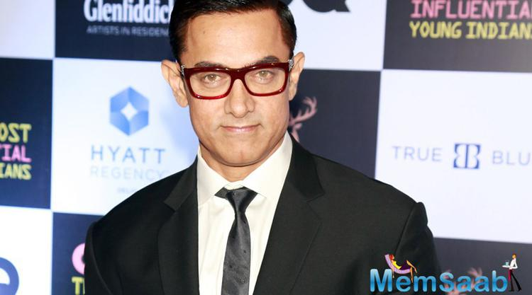 It sure looks like Aamir has cracked the look! He reportedly plays a music composer in the film who becomes a mentor to the female protagonist.Aamir Khan will be seen along with Amitabh Bachchan in YRF upcoming flick Thugs