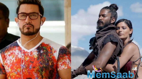Anil Kapoor's son Harshvardhan, who is making his Bollywood debut with Mirzya, considers Aamir Khan as his inspiration.