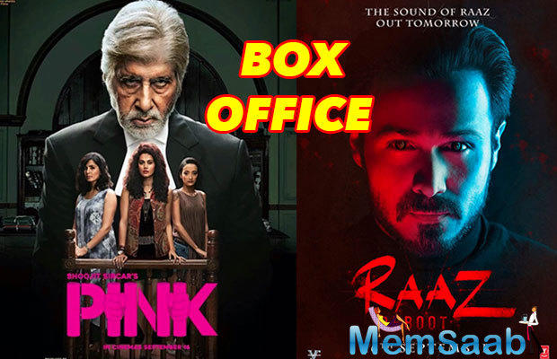 Raaz Reboot, story about a haunted house, a little mystery and a newlywed, in-love couple where one partner is hiding a big truth. While Pink is based on the real story of molestation.