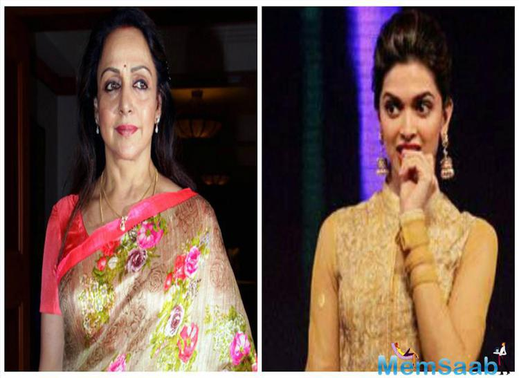 Deepika Padukone, who is becoming renowned in both Hollywood and Bollywood, called new Dream girl by Hema Malini.