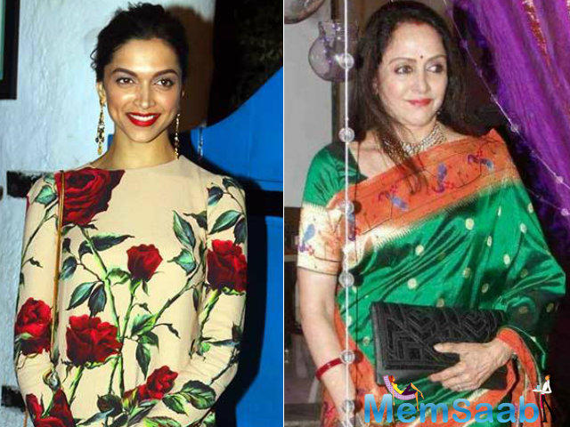 These days, Deepika is getting good things about herself, now Hema gave a precious compliment to her