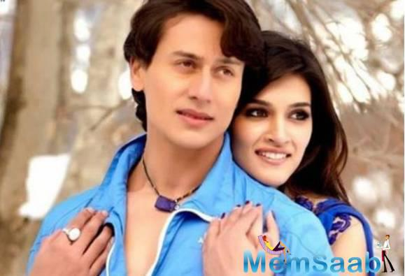 Kriti Sanon and Tiger Shroff  had last seen in the video of the song