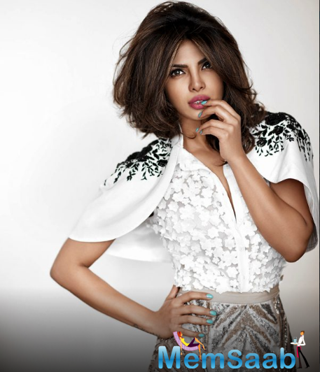 'Daddy's lil girl' Priyanka who nailed her red carpet look in Jason Wu couture dress Awards 2016 at the Emmy's is presently gearing up for the premiere of the second season of her popular TV series Quantico.
