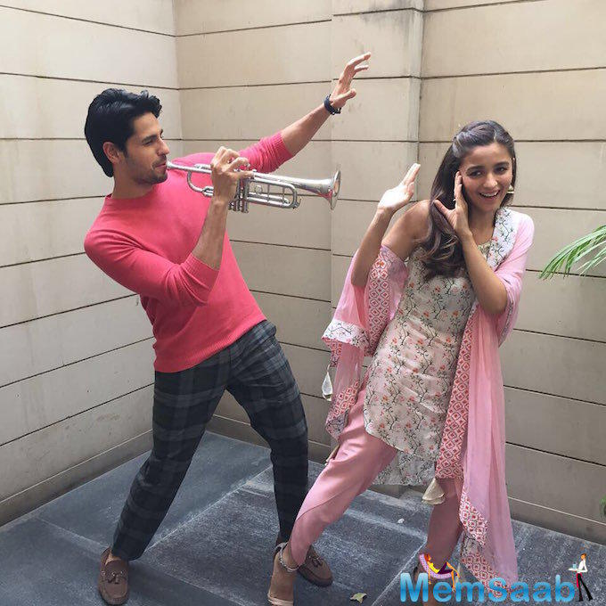 The actress is very busy in her forthcoming flick Badrinath Ki Dulhaniya opposite Varun Dhawan
