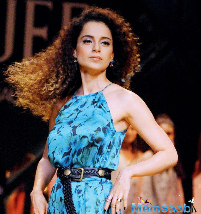 Kangana Ranaut is a popular Bollywood actress. While Sonu has turned producer, Kangana does not seem to have any inclination to follow in his footsteps right away.