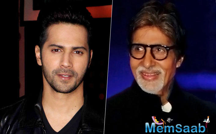 Amitabh Bachchan and Varun Dhawan team up for Pradeep Sarkar upcoming film, which titled  Dabba Gul.