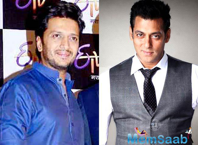 Salman also did a cameo in Riteish's Marathi film 'Lai Bhaari', and said his role in the upcoming biopic won't be confined to a brief appearance.