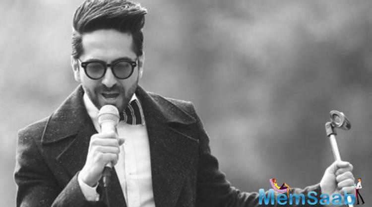 Ayushmann told reporters at the launch of the single