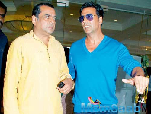Hera Pheri 3 is now in talks, reportedly, apart from Suniel Shetty, it has also starrer Paresh and Akshay, but the film is yet to take off.