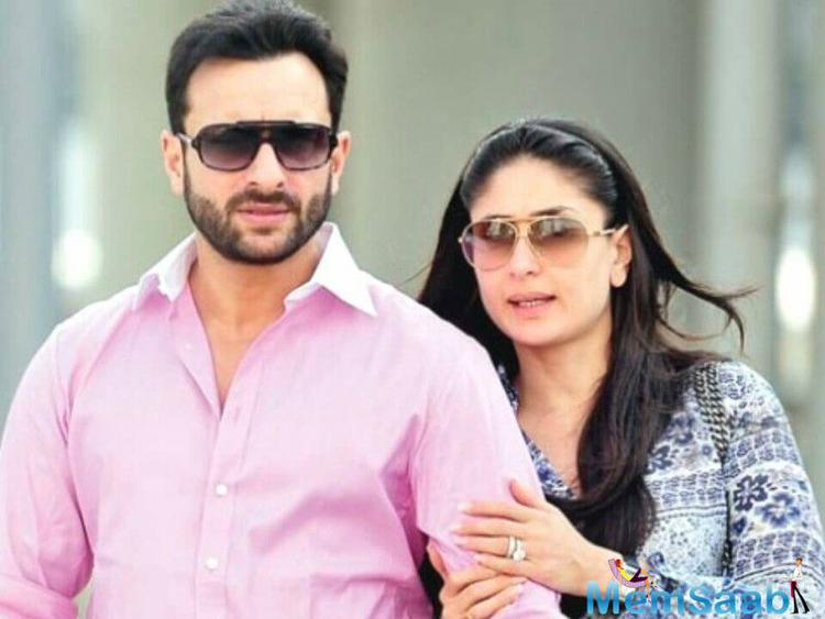 """This name is given by media to them,  Saif loves the name very much. """"He finds it really funny. He says we'll name our child Saifeena,""""Bebo added."""
