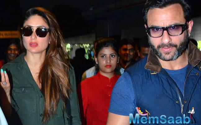 Saif and Kareena will soon be leaving for a babymoon in Dubai. The actress has a relaxed, romantic time-off all planned for herself.