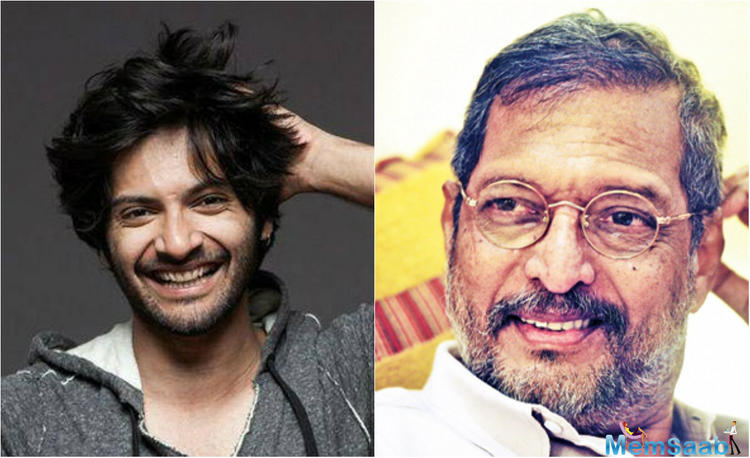 """Ali Fazal is an Indian film actor known for his roles in Bollywood. He says actor Nana Patekar is often misunderstood and is, in fact, a """"wonderful person"""", who he considers like his father."""