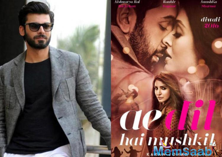 Fawad Khan is in Pakistan for a while ,now the couple expecting their second child in October.