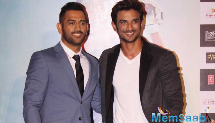 Report suggests that, Dhoni biopic directed by Neeraj Pandey, but Sushant Singh Rajput trained by M S Dhoni very much.